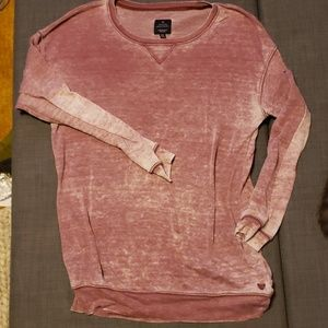 American Eagle Distressed Jegging Sweatshirt